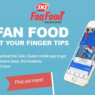 Dairy Queen Mobile App
