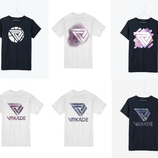 VRKADE T-Shirt Mock-Ups