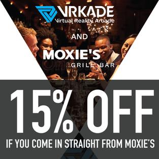 Moxie's and VRKADE