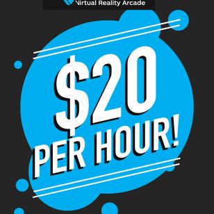 $20 Weekday