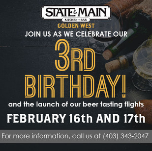 State and Main 3rd Birthday