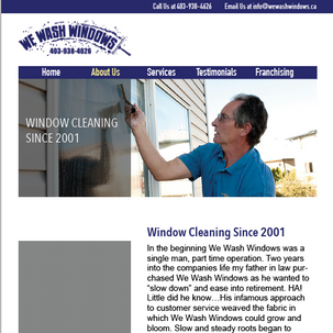 We Wash Windows Mockup 3