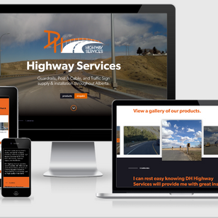 Highway Services Mockup