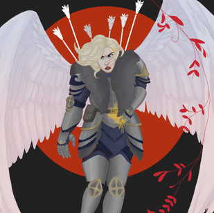 The Angel Stands