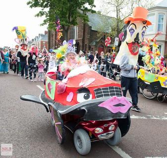 Parade time