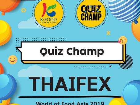Quiz Champ @ Thaifex 2019