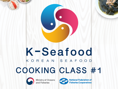 K-Seafood Cooking Class #1