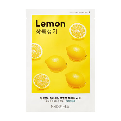 MISSHA Airy Fit Sheet Mask (Lemon)