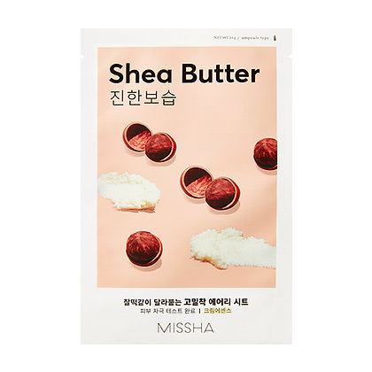 MISSHA Airy Fit Sheet Mask (Shea Butter)