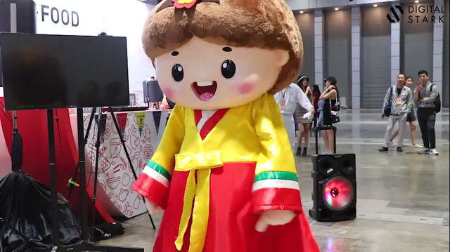 Mascot Dancer