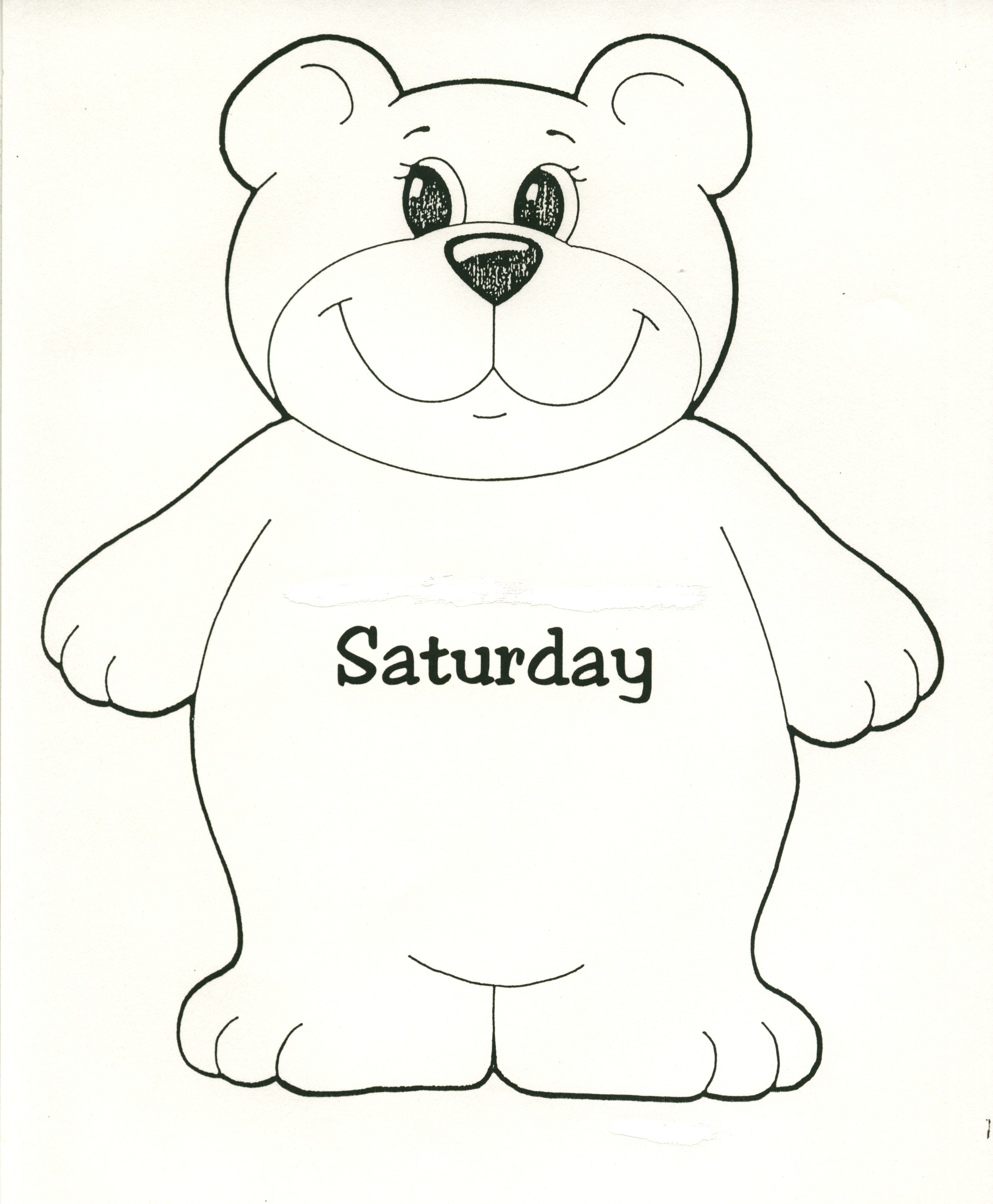 Bear--Saturday