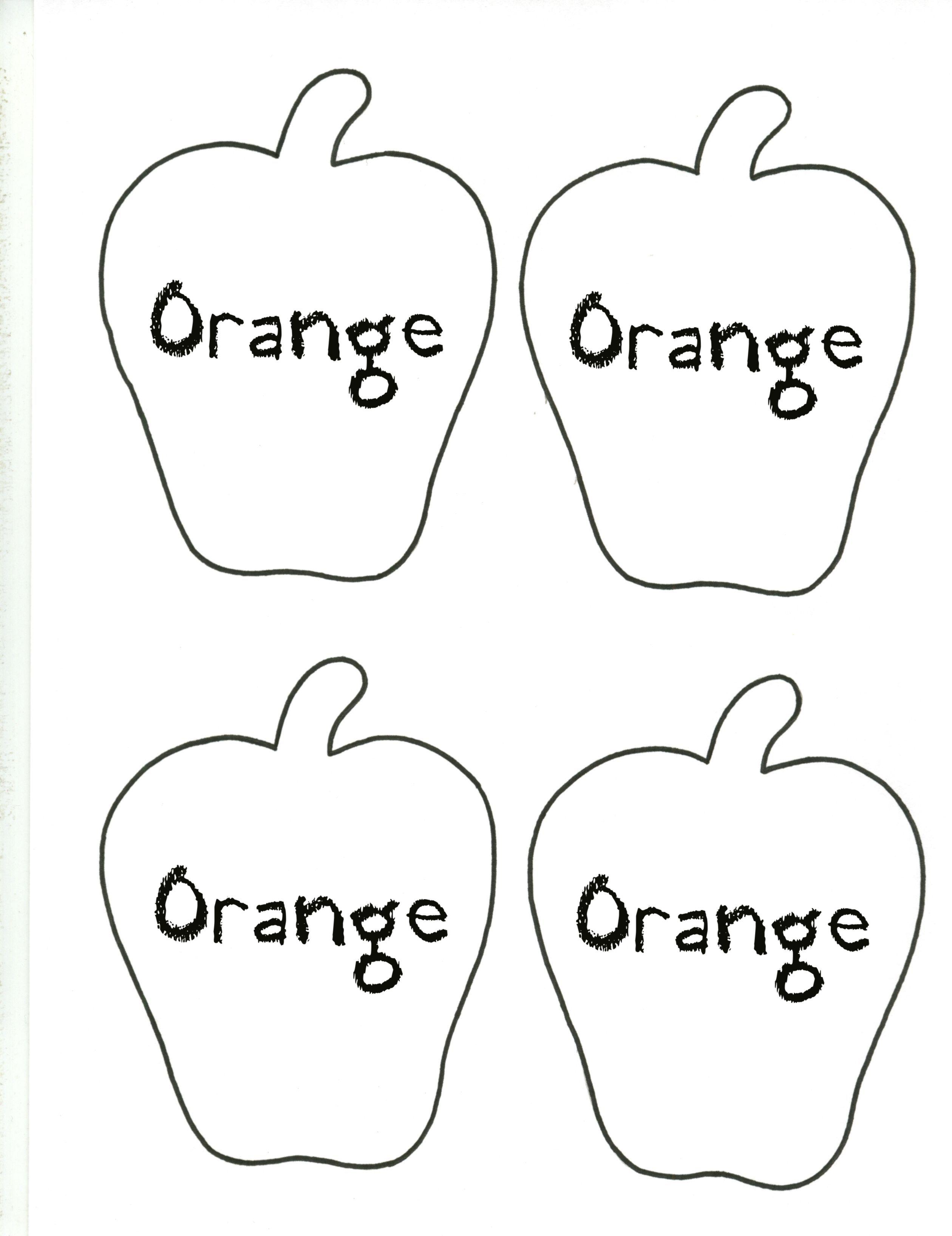 Apple--Orange