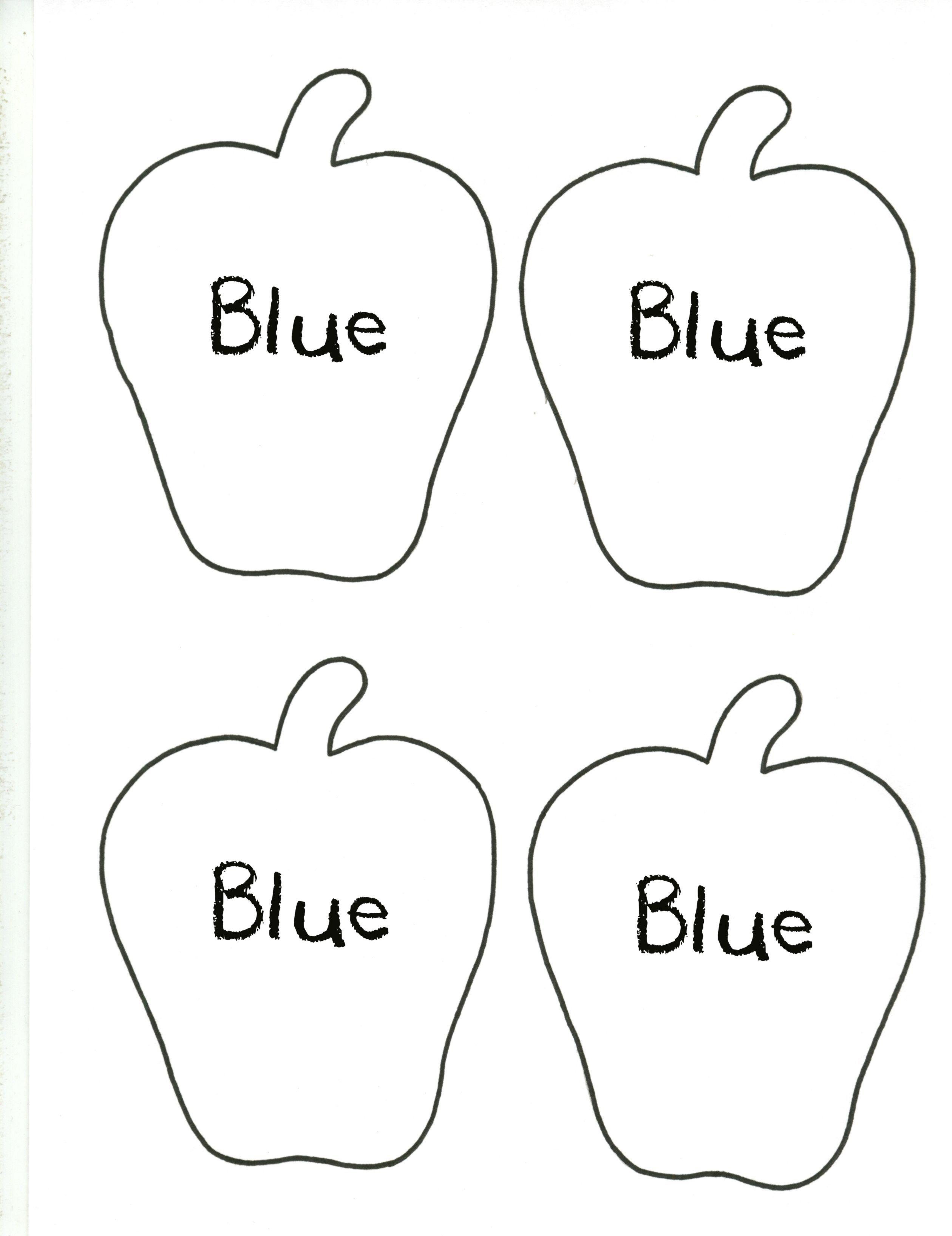 Apple--Blue