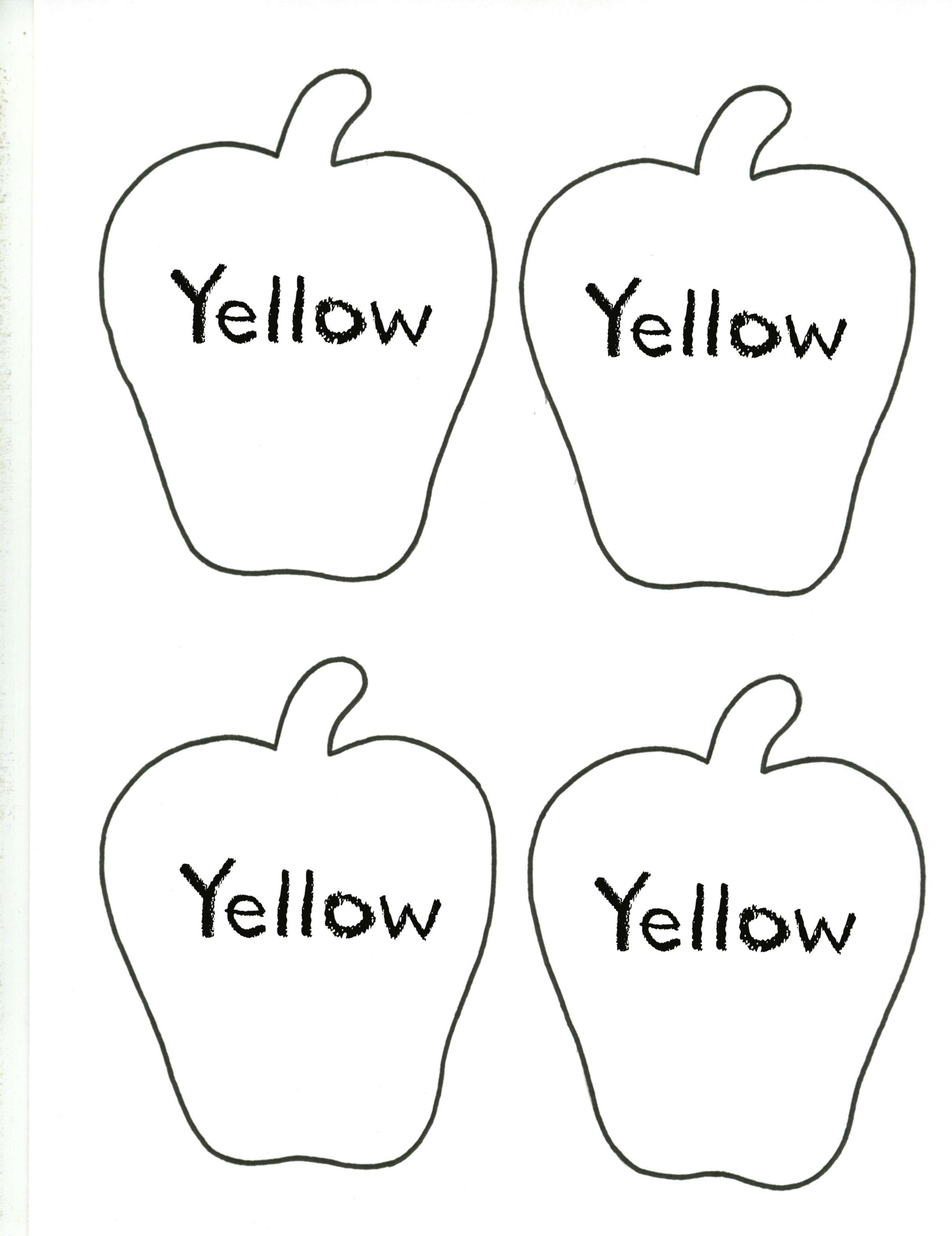 Apple--Yellow