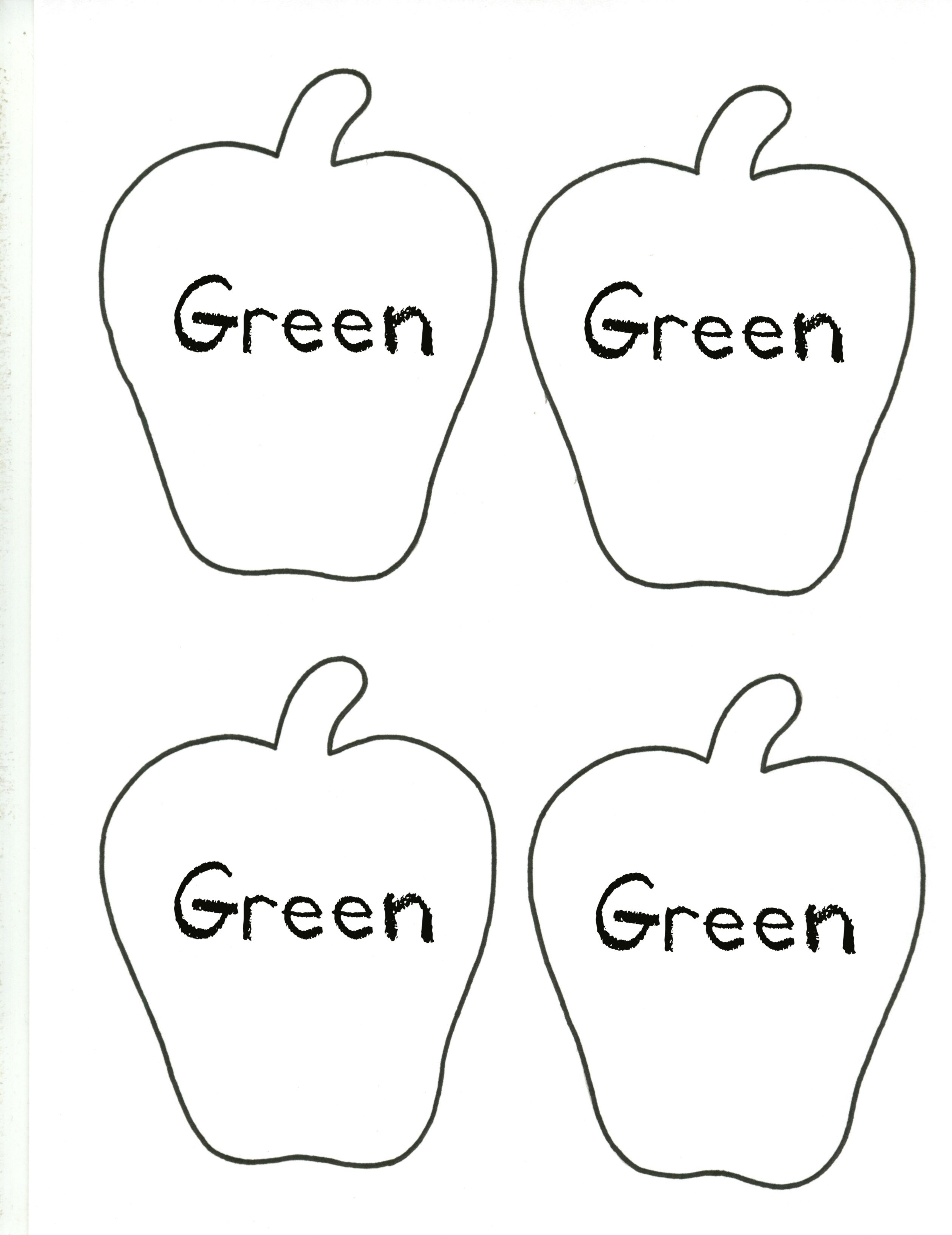 Apple--Green