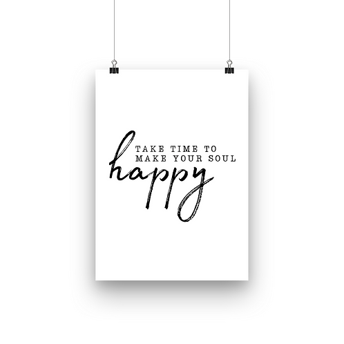 Make your soul Happy