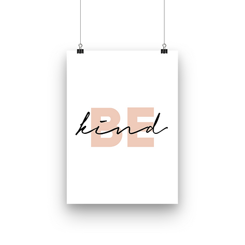 Be Kind   Beige