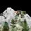Thumbnail: Watercolour Mountain Forest