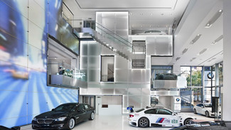 BMW MANHATTAN SHOWROOM, NEW YORK