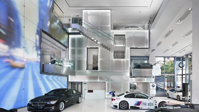 BMW MANHATTAN SHOWROOM, NEW YORK
