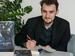 K psaní mě vrátila pandemie, říká student UP Filip Kurečka