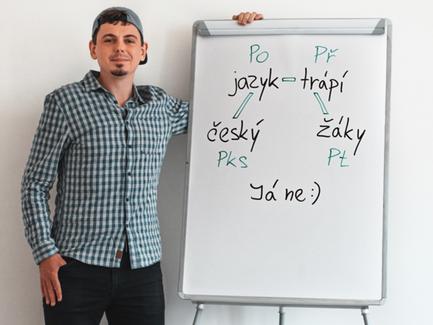Čeština na sítích náročně, ale zábavně – beseda s Běžícím češtinářem