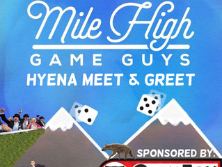 MHGG # 162 - Hyena Meet & Greet