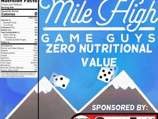 MHGG #163 - Zero Nutritional Value