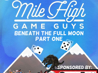 MHGG Oneshot - Dread Beneath the Full Moon: Part One