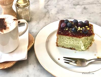 Pistachio Blueberry Cake