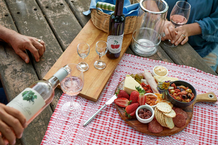 Great local produce - check out the fruit wines
