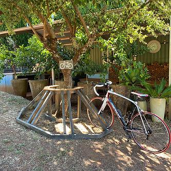 Bike Parking at Lewana Cottages.jpg