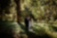 Bride and Groom in the nearby forest