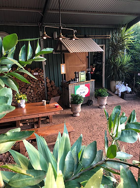 Lewana Cottages Coffee Cart for guests.j