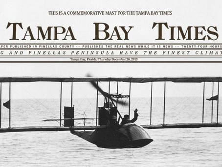First Scheduled Commercial Airline Flight