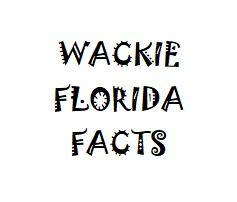 Wacky Florida Facts