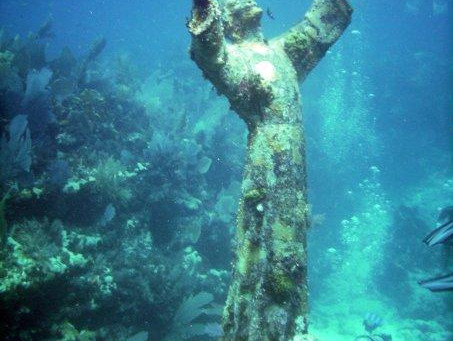 Sunken Statue