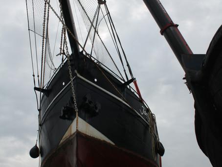 Ombouw zeegaand charterschip - verlenging Jantje