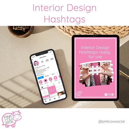 Interior Design Hashtags
