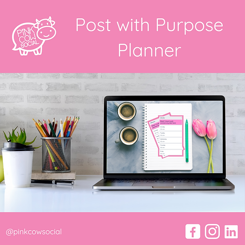 Post with Purpose Planner