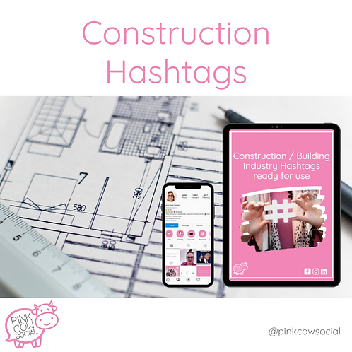 Construction Hashtags