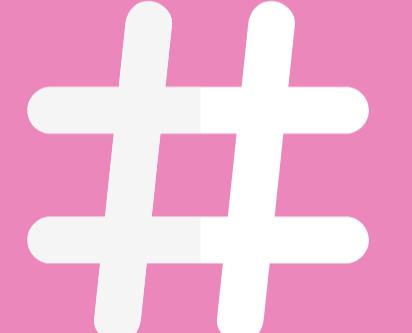 Hashtag and Hustle.