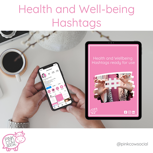 Health and Wellbeing Hashtags