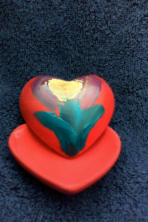 Rounded Heart Box