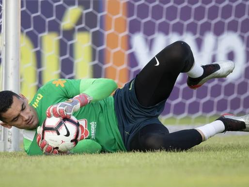 Goleiro paraibano é convocado novamente para a Seleção Brasileira de futebol