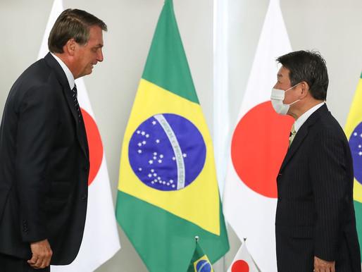 Bolsonaro recebe convite para assistir à abertura de Tóquio 2020