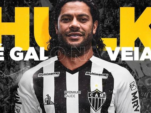 Atlético-MG fecha a contratação do atacante paraibano Hulk