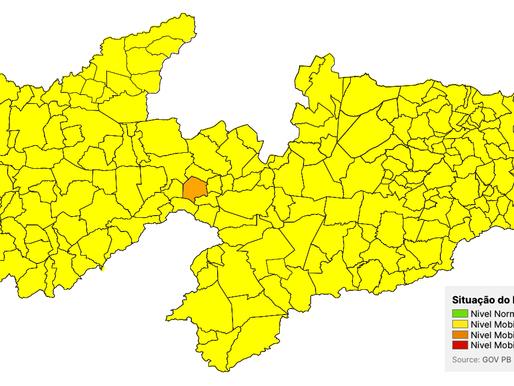 São José de Piranhas permanece em bandeira amarela na 36ª avaliação do Plano Novo Normal