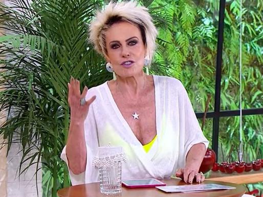Ana Maria Braga testa positivo para a Covid e Globo corre para escolher substituto