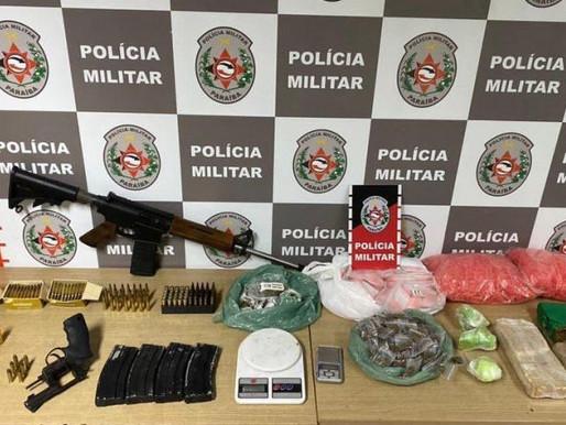 Polícia Militar da Paraíba apreende fuzil, revólver e drogas em tonéis que foram enterrados